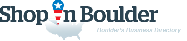ShopInBoulder. Business directory of Boulder - logo